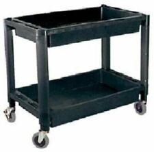 Atd Tools Atd 7016 2 Shelf Heavy Duty Plastic Utility Cart