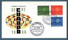 GERMANIA REP. FED. - 1960 - Europa Unita - FDC
