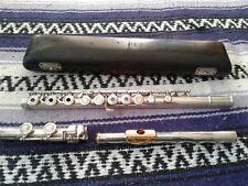 Vintage Armstrong Heritage Flute Elkhart Vintage 1960's S/N H160 Silver