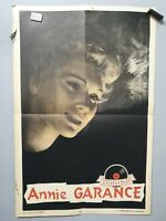 Affiche ancienne Annie Garance Polydor Veignant Deligne 40x60