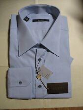 NWT GUCCI Pale Blue COTTON Men's DRESS SHIRT 17 1/2 -  44