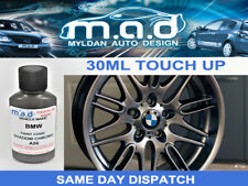 BMW SHADOW CHROME A56 ALLOY WHEEL TOUCH UP PAINT 30ML CURB SCRATCH M SPORT