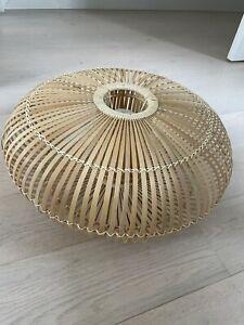 John Lewis Talia Bamboo Rattan Ceiling Light