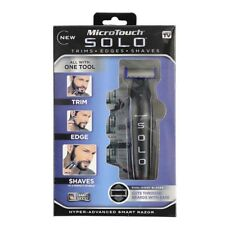 MicroTouch Micro Touch SOLO Rechargeable Trims Edges Razor Shaver As Seen On TV