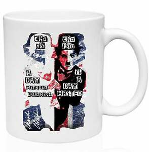 Charlie Chaplin A Day Without Laughing Quote 11oz Ceramic High Quality Coffee