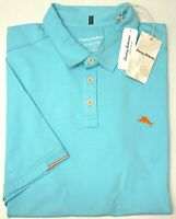 NWT $110 Tommy Bahama SS Blue Polo Shirt Mens 2XL XLT XXLT Tropicool Spectator