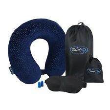 High Quality Travel Set, Memory Foam Travel Pillow, Super Light 3D Sleeping M...