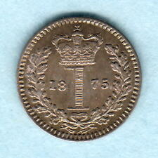 Great Britain.  1875 Victoria - Maundy Penny..  gEF/aUNC - Much Lustre