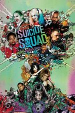 SUICIDE SQUAD One Sheet POSTER (24x36) rolled poster
