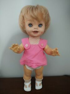 """Vintage Saucy Doll 1972 By  Mattel 15"""" works great"""