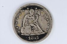 1875-S 20 Cent Piece Witter Coin #4