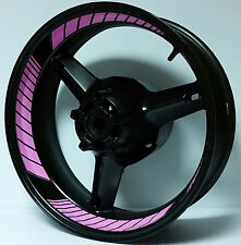 SOFT PINK CUSTOM INNER RIM DECALS WHEEL STICKERS STRIPES TAPE GRAPHICS VINYL KIT