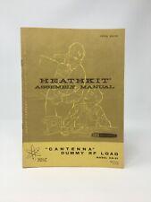 HEATHKIT Assembly Manual Cantenna Dummy RF Load Model HN-31