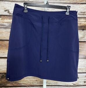 Green Tea Women's Skort Navy Blue Size XXL Active Wear Skirt