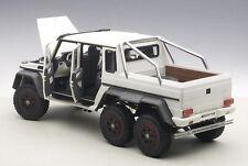 Autoart MERCEDES-BENZ G63 AMG 6x6 MATT WHITE COMPOSITE MODEL 1/18 Scale In Stock