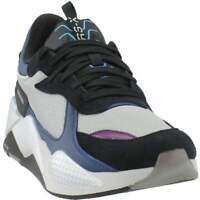 Puma Rs-X Tech Motorola Lace Up  Mens  Sneakers Shoes Casual   - Silver - Size