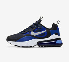 Nike Air Max 270 React Uk Size 6 Junior Trainers RRP £94.95 Blue/Black/White