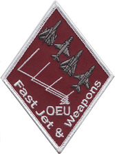 No. 41(R) TES Squadron RAF Fast Jet & Weapons OEU Embroidered Patch