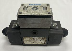 VICKERS 02-119575 DG4S4LW-012N-B-60 DIRECTIONAL SOLENOID VALVE