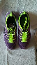 NEW ! NIKE AIR LUNAR FLYKNIT ONE SZ 10 RARE PURPLE + VOLT RACER MULTI MAX TEAL