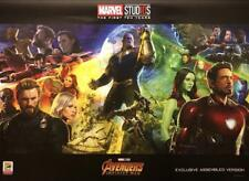 MARVEL'S INFINITY WAR 15.5x21 Original Promo Movie Poster SDCC 2018 MINT Avenger