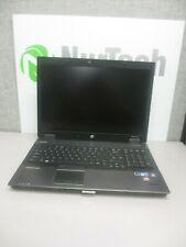 """HP EliteBook 8740w 17"""" i5 2.4GHz 8GB/160GB DVD/RW Webcam Laptop +AC """"No Battery"""""""