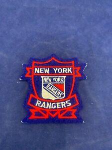 New York Rangers NHL Hockey Team Logo Patch Size 3 x 3.25 inches