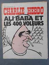 ►CHARLIE HEBDO N°97 -  SEPTEMBRE 1972 - CABU