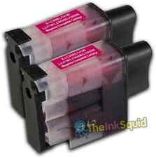 2 LC900 Magenta Ink Cartridge Set For Brother Printer DCP110C DCP111C DCP115C