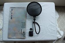 Nady Audio MPF-6 6-inch Clamp On Microphone Pop Filter With Flexible Gooseneck