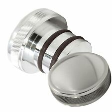 Harley Polished Domed Oil Tank Cap For Softail Springer Fat Boy Night Train