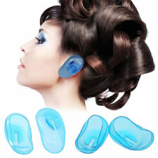 2PCS Useful Hair Dye Shield Protect Salon Anti Staining Clear Silicone Ear Cover