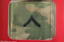 Us Army Gi Multicam Ocp E-2 Pv2 Hook Back Camouflage Camo Uniform Rank Patch