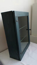 IKEA Pine blue stained bathroom cabinet/storage cabinet, excellent condition