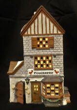 Dept 56 Dickens Village 1988 Poulterer Porcelain Light Up House 59269