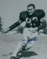 1950's PACKERS John Martinkovic signed 8x10 photo #83 AUTO Autographed Green Bay