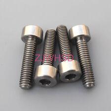 4pcs M4 x 16 mm Titanium Ti Screw Bolt Allen Hex Socket Cap Head Aerospace Grade