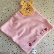 Doudou Plat Winnie The Pooh Cartoon Club Disney Rose