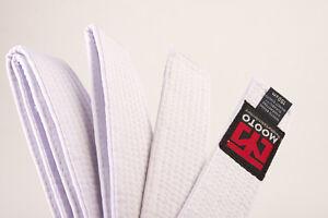 MOOTO 8 COLOR BELT 160cm/180cm TAEKWONDO GRADE BELT TKD Judo Karate Hapkido