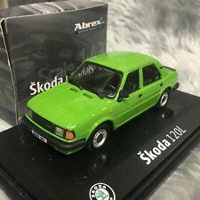 Abrex 1:43 Skoda 120L Bright Green 143ABS702HF / 4-14870