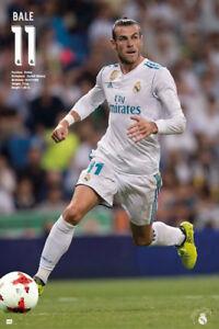 Gareth Bale GAME NIGHT 2018 Real Madrid Soccer Official La Liga Import POSTER
