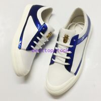 2018 Mens Lace Up Low Top Fashion Sneakers Genuine Leather Casual Board Shoes sz