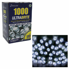Christmas Ultra Bright Lights Multi Function with Timer - 1000 White