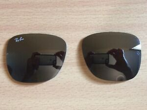 New Authentic Rayban RB 4165 Justin 54mm Replacement Lenses Grey Mirror,