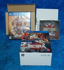 NEW PS4 Guilty Gear X Sign Limited Box With Game and Vocal Collection Japan Only
