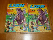 LION Annual - Year 1975 - UK Annual - With Price Ticket Intact
