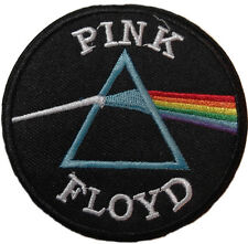 """Pink Floyd Dark Side of the Moon Emblem 3"""" Wide Embroidered Patch"""