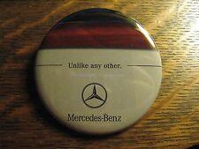 Mercedes Benz German Automobile Car Logo Advertisement Pocket Lipstick Mirror
