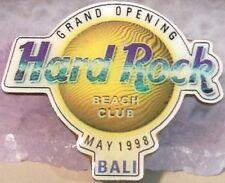 Hard Rock Hotel Bali Beach Club 1998 Grand Opening Pin Sun logo Hrh Go