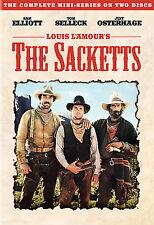 THE SACKETTS - COMPLETE MINI-SERIES 2 DVD DISC SET LOUIS L'AMOUR,ELLIOTT-SELLECK